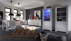 High Gloss White Amalfi Serie